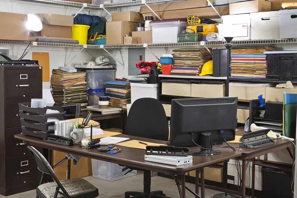 Office in need of business storage