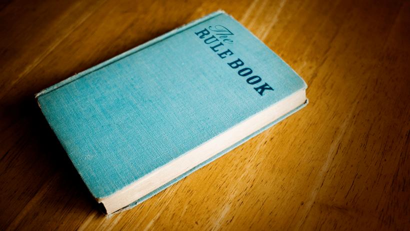 A rule book
